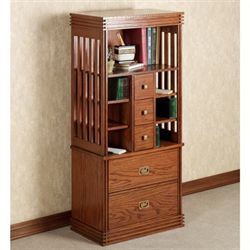Robie Mission Media Cabinet Mission Red Oak