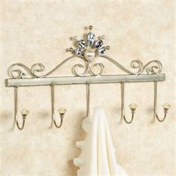 Giselle Wall Hook Rack Platinum