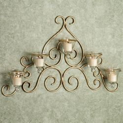 Bellanca Wall Candelabra- 5 votive