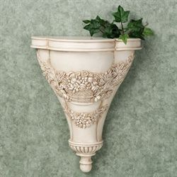 Britannia Wall Shelf Antique Ivory