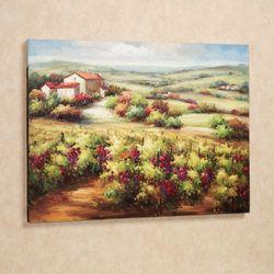 Season of Plenty Canvas Wall Art Multi Earth