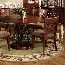 Grapes Napa Border Round Rug
