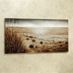 Harbor Bay Canvas Wall Art Multi Earth
