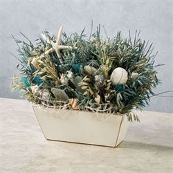Sea Glass Coastal Tabletop Accent Multi Cool