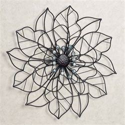 Beauty in Bloom Wall Art Dark Brown