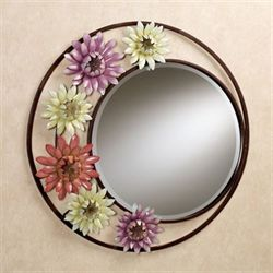 Floral Celebration Wall Mirror Multi Pastel