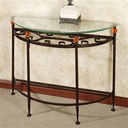 Adele Console Table Bronze