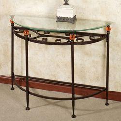 Adele Console Table Bronze