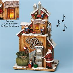 Musical Santas Workshop Figurine Multi Warm