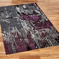 Bedlam Rectangle Rug Gray