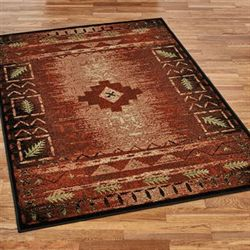 Donoma Rectangle Rug Multi Warm