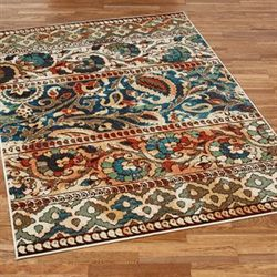 Gypsy Rectangle Rug Multi Jewel
