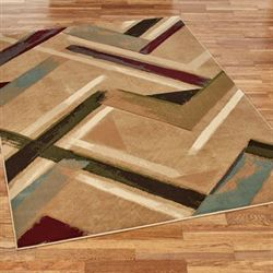 Diesel Rectangle Rug Amber