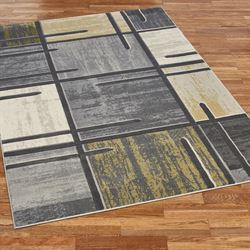 Ambiguities Rectangle Rug Gray