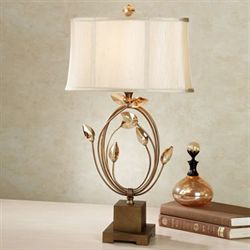 Elena Table Lamp Burnished Gold