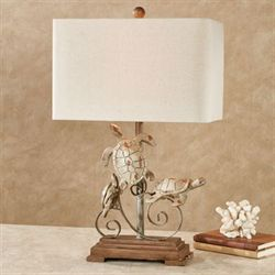 Seda Sea Turtle Table Lamp Tawny