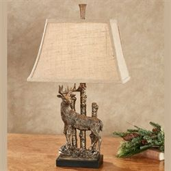 Dalton Deer Table Lamp Bronze