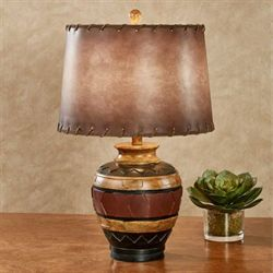 Sawyer Southwest Table Lamp Multi Earth