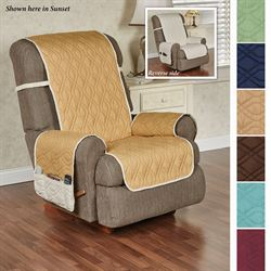 Brilliant Furniture Protector Recliner/Wing Chair