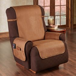 Stonehill Furniture Protector Cognac Recliner