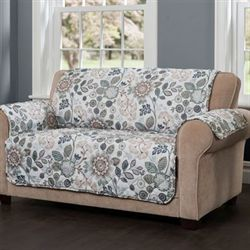 Harleen Furniture Protector Dark Teal Recliner