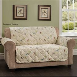Sweet Chirp Furniture Protector Cream Loveseat