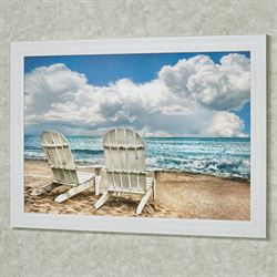 Island Attitude Framed Wall Art Multi Cool