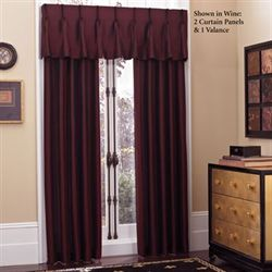 Newport Pinch Pleat Look Curtain Panel 27 x 84