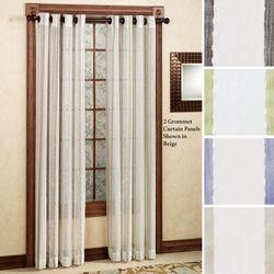 Rococo Grommet Curtain Panel