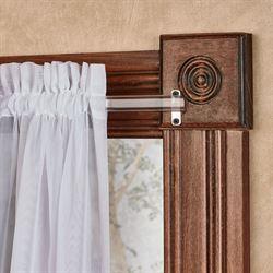 Clear Curtain Rod Clear