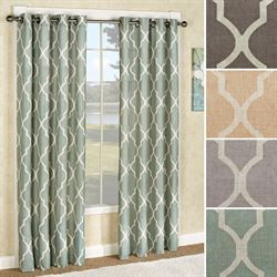 Medalia Grommet Curtain Panel