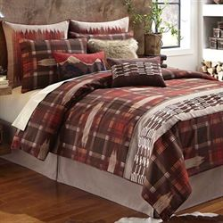 Wagner Comforter Set Chocolate