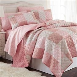 Enchantment Quilt Set Rose