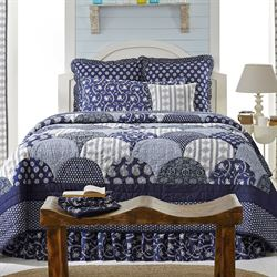 Bluehill Harbor Quilt Set