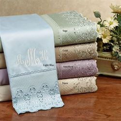 400 tc empress lace cotton sateen king sheet sets - Touch Of Class Bedding