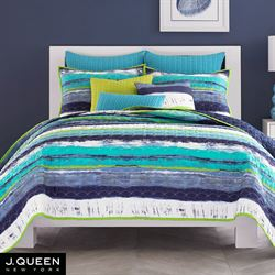 Cordoba Teal Coverlet Teal