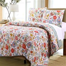 Astoria Quilt Set White