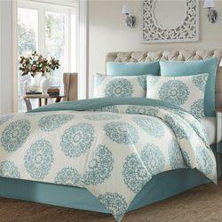 Bristol Comforter Set Aqua
