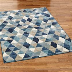 Nexus Triangle Rectangle Rug
