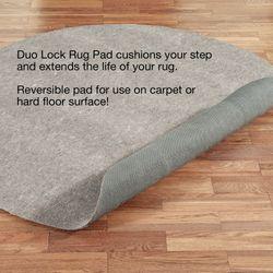 Duo Lock Round Rug Pad
