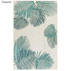 Terrace Palm Rectangle Rug