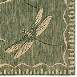 Dragonfly Flight Rug Runner 111 x 64