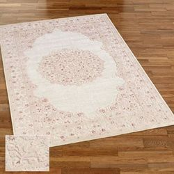 Enchanted Fables Rectangle Rug Tea Rose