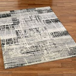Emergent Allure Rectangle Rug Gray