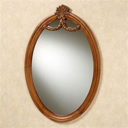 Raphael Wall Mirror Antique Walnut