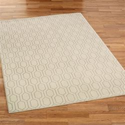 Desert Mirage Rectangle Rug Beige