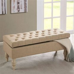 Jagna Storage Bench Natural