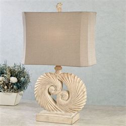 Nautilus Table Lamp Natural