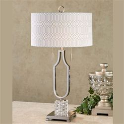 Brandburg Table Lamp Brushed Steel