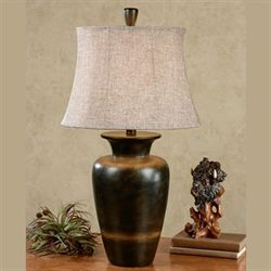 Darcia Table Lamp Multi Earth